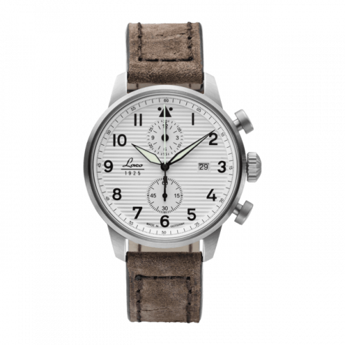 Pilot Watch Special Models Bern / Stainless Steel / White