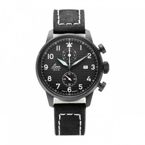Pilot Watch Special Models Model Lausanne / Stainless Steel / Black