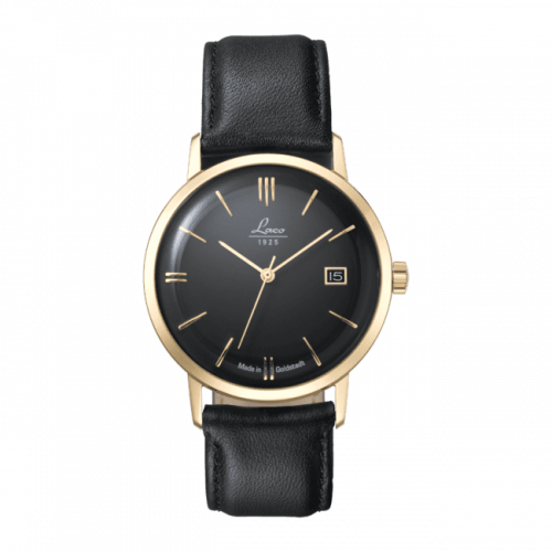 Editions Model Goldstadt-Watch / Stainless Steel / Black