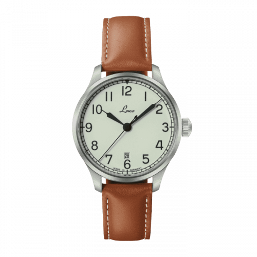 Navy Watch Valencia  / Stainless Steel / White