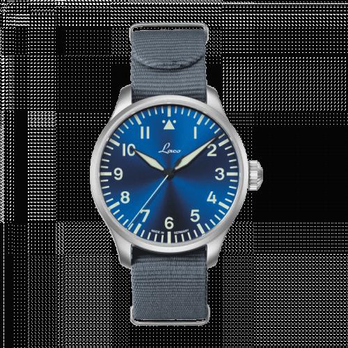 Pilot Watch Original Augsburg Blaue Stunde Stainless Steel / Blue