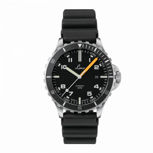 Squad Watch Himalaya / Stainless Steel / Black