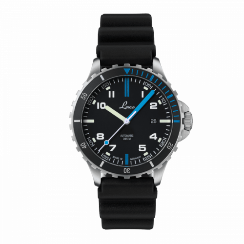 Squad Watch Atlantik / Stainless steel / Black