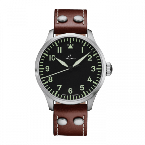Pilot Watch Basic Augsburg Stainless Steel / Black