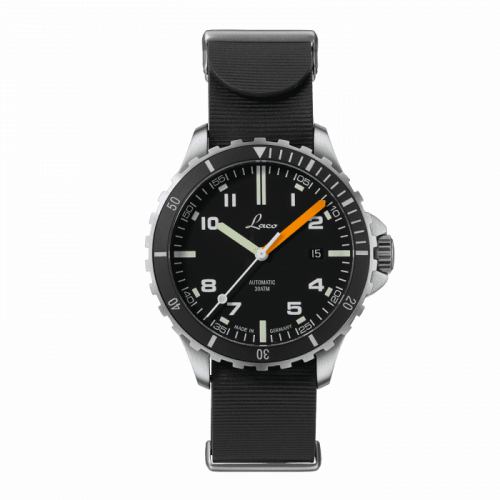 Squad Watch Himalaya RB / Stainless Steel / Black