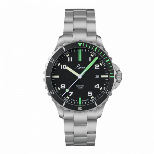 Squad Watch Amazonas MB / Stainless steel / Black