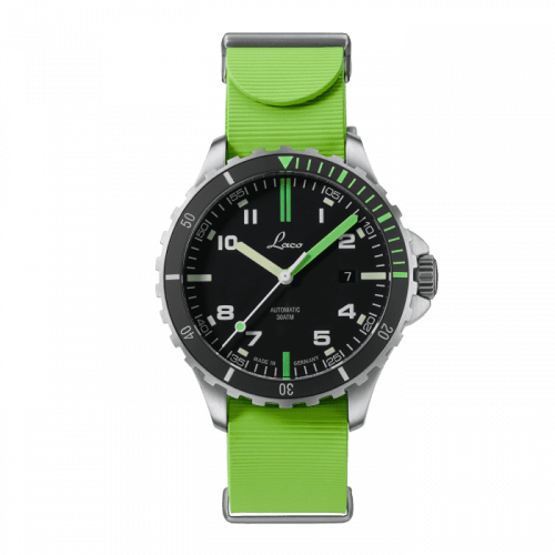 Squad Watch Amazonas .RB / Stainless steel / Black
