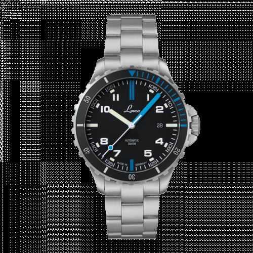 Squad Watch Atlantik MB / Stainless steel / Black
