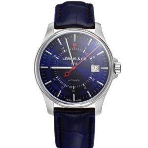 Avantgarde Date – Re-launch Edition Stainless Steel / Blue / Alligator