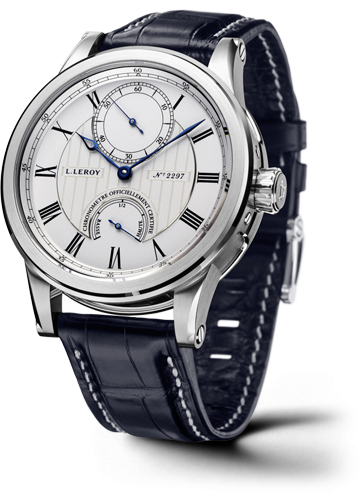 Automatic Deck Chronometer White Gold Silver