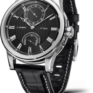 Automatic Deck Chronometer White Gold Black