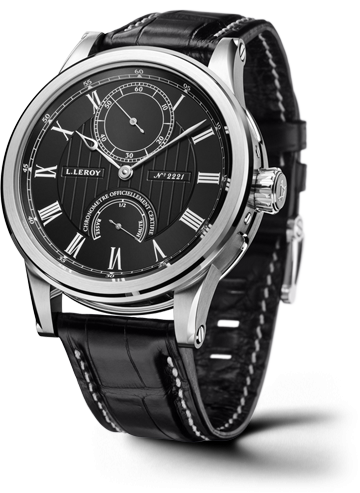 Automatic Deck Chronometer White Gold Black