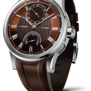 Automatic Deck Chronometer White Gold Brown