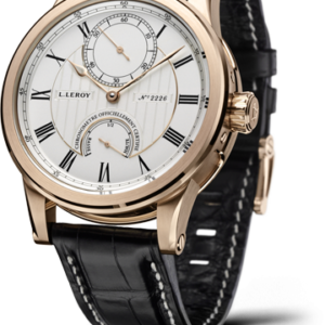 Automatic Deck Chronometer Pink Gold Silver