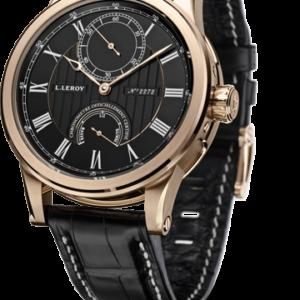 Automatic Deck Chronometer Pink Gold Black