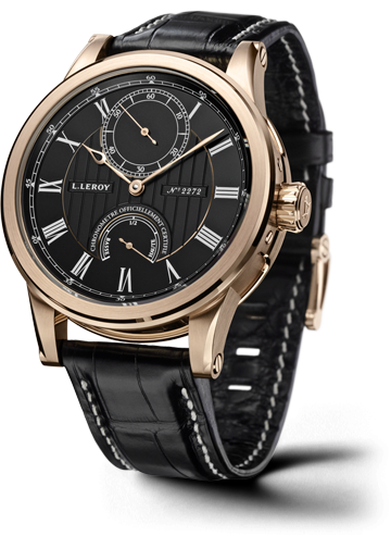 Automatic Deck Chronometer Pink Gold Black
