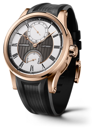 Automatic Deck Chronometer Pink Gold Grey-Silver