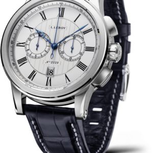 Automatic Deck Chronograph White Gold Silver