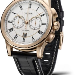 Automatic Deck Chronograph Pink Gold Silver