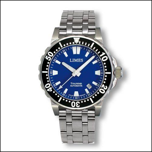 1Tausend Automatic Blue - steel bracelet