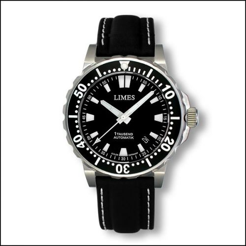 1Tausend Automatic - Leather strap