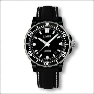 1Tausend Automatic PVD - Leather strap