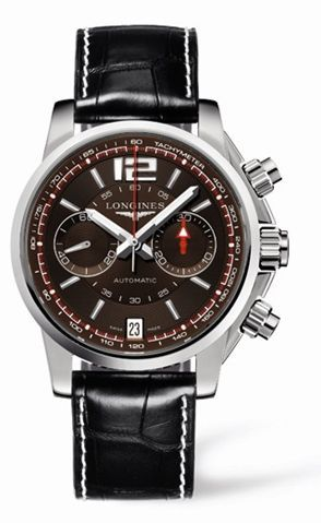 Admiral Chronograph Brown Strap