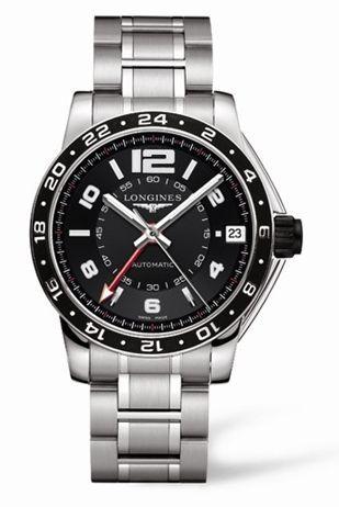 Admiral GMT Black Bracelet