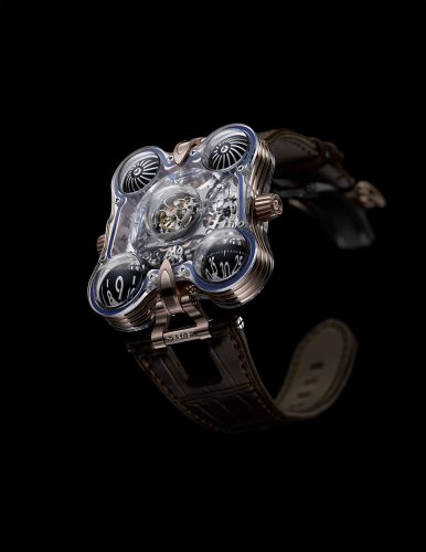Horological Machine N°6 Space Pirate HM6-SV Red Gold