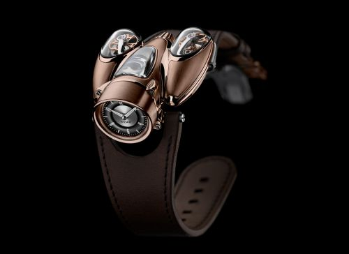 Horological Machine N°9 HM9 Flow Road Edition Red Gold
