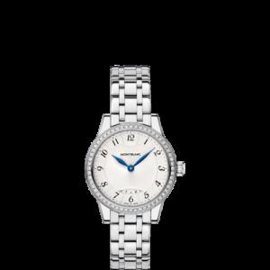 Bohème Date 27 Stainless Steel / Diamond / Silver / Bracelet