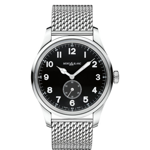 1858 Automatic Small Second Stainless Steel / Black