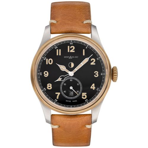 1858 Automatic Dual Time Stainless Steel / Bronze / Black