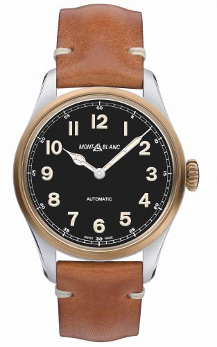 1858 Automatic 40 Stainless Steel / Bronze / Black / Calf