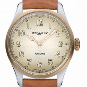 1858 Automatic 40 Stainless Steel / Bronze / Champagne / Calf