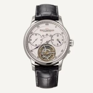 Benu Tourbillon White Gold / Silver