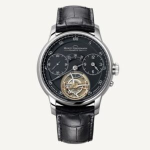 Benu Tourbillon White Gold / Black