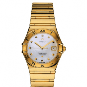 Constellation Automatic 27.5 My Choice Yellow Gold / MOP