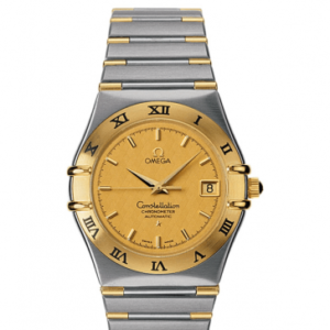 Constellation Automatic 35.5 Stainless Steel / Yellow Gold / Champagne