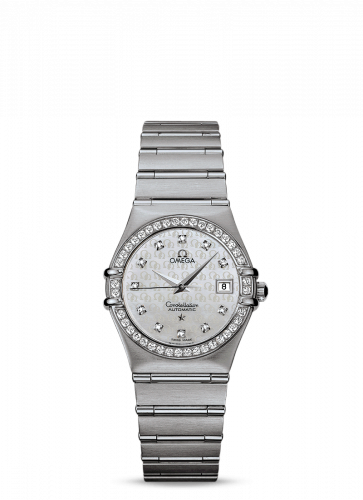 Constellation Automatic 27.5 '95 Stainless Steel / Diamond / Silver Omega
