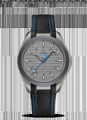 Seamaster Aqua Terra 150M Master Chronometer 41 Ultra Light Titanium / Grey - Blue / Rubber