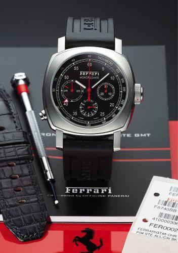 Ferrari Granturismo 8 Days Chrono Monopulsante GMT