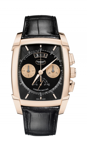 Kalpa Chronor Rose Gold / Black / Alligator
