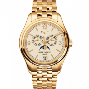Annual Calendar 5146 Yellow Gold / Cream / Bracelet