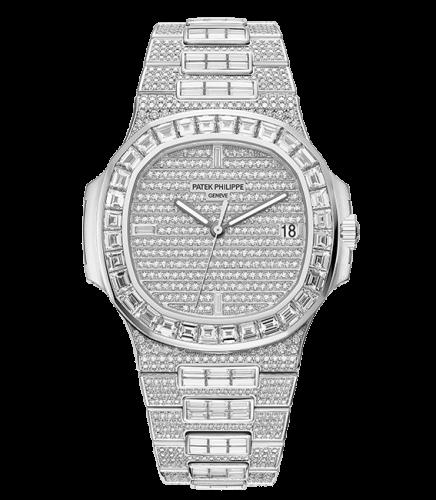 Nautilus 5719 White Gold / Diamonds