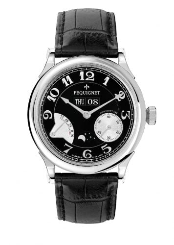 Paris Royal Moonphase Black / Silver