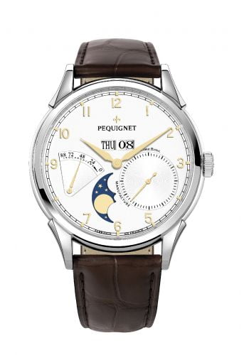 Royale Grand Sport Moonphase Gilt Numerals / Brown Strap