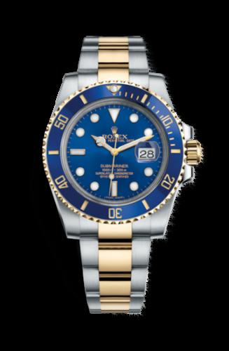 Submariner Date Rolesor / Blue / Cerachrom