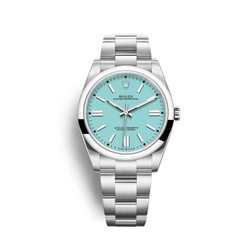 Oyster Perpetual 41 Stainless Steel / Turquoise