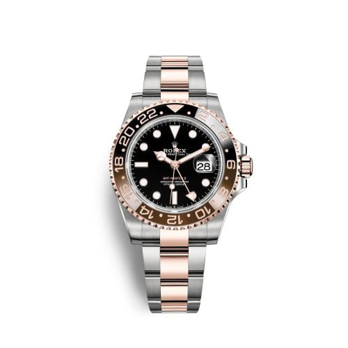 GMT-Master II Stainless Steel / Everose / CHNR / Oyster